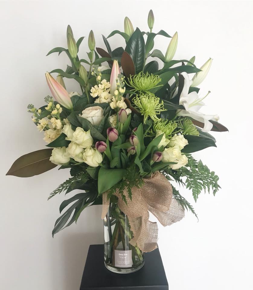 Miranda Flower Vase Arrangement & Miranda Flower Vase Arrangement - Frances Dunn Florist
